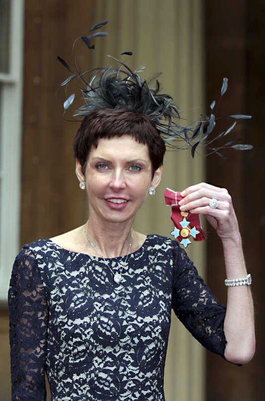 Denise Coates, la patronne de Bet365, une entreprise de jeux d'argent en ligne, enmai2012, à Londres.