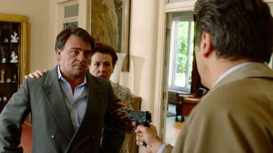 Thierry Godard dans« Un village français» sur France 3.