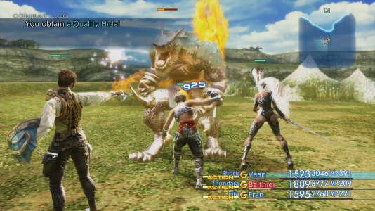 Virtuos propose régulièrement à ses clients d'exploiter leur fond de catalogue en les remettant au goût du jour. Ici,«Final FantasyXII».