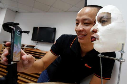 Le masque de la société Bkav serait parvenu à tromper Face ID.