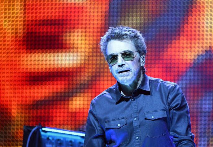 Jean-Michel Jarre au Radio City Music Hall, à New York, le 20 mai.
