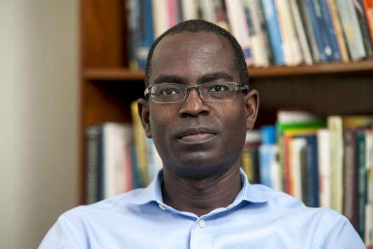 Patrick Awuah est le fondateurde l'université Ashesi au Ghana. Ici, à Berekuso, qui accueille l'établissement, le 17 septembre 2015.