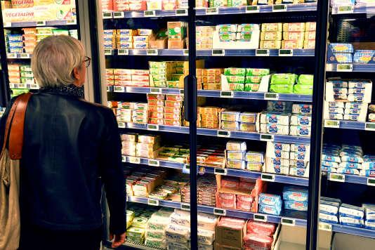 Un supermarché à Nantes, le 20 octobre.
