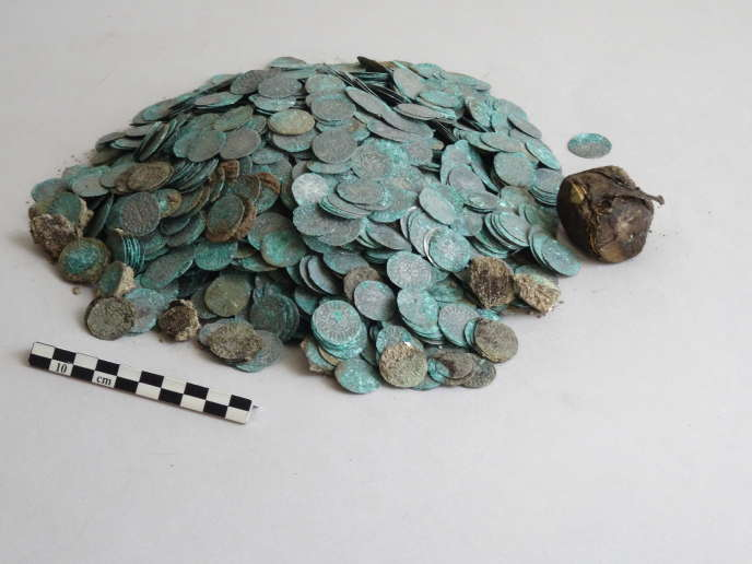 Billon coins from the Cluny hoard