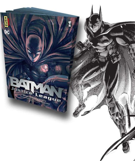How To Create Comics Manga: « Batman » Version Manga, ça Donne Quoi