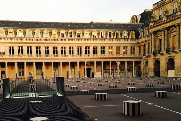 « Le Monde» s'est procuré un document de synthèse intitulé« Ministère de la culture. Contribution ministérielle aux travaux du Comité action publique (CAP) 2022 » (en photo : le ministère de la culture, rue de Valois).