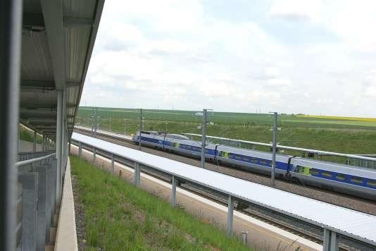 Gare de Lorraine TGV, à Louvigny (Moselle).