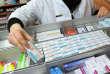 Une pharmacie à Quimper.