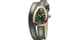 Matière et sertissage du boîtier, cadran, bracelet, Twist Your Time personnalise les Serpenti, dans les boutiques Bulgari