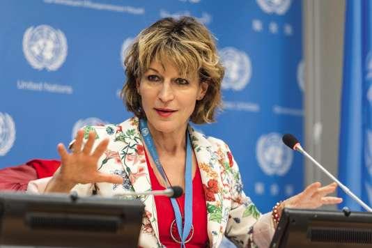 Agnés Callamard est rapporteure des Nations Uniessur les exécutions sommaires ou arbitraires.