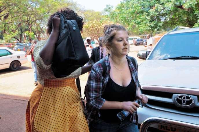 Accusée de subversion et d'insulte envers Mugabe, la journaliste américaine Martha O'Donovan risque vingt ans de prison.