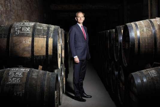 Charles Braastad, petit-fils d'une Delamain, a pris la direction de l'entreprise en mai 2017.