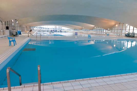 La piscine olympique d'eau de mer de Deauville.