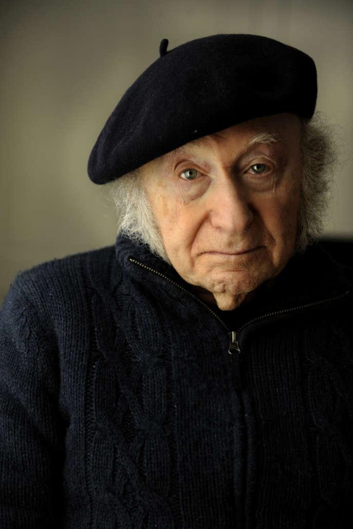Edgar Hilsenrath, écrivain juif allemand, déporté, auteur entre autre de «La Nuit», «Le Nazi et le Barbier» et «Le Conte de la pensée dernière».