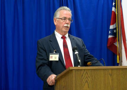 David Stebbins, l'avocat d'Alva Campbell dont l'exécution a été annulée.