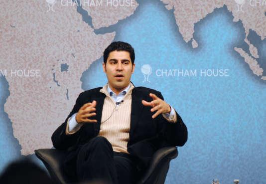 L'expert en relations international indo-américain Parag Khanna.