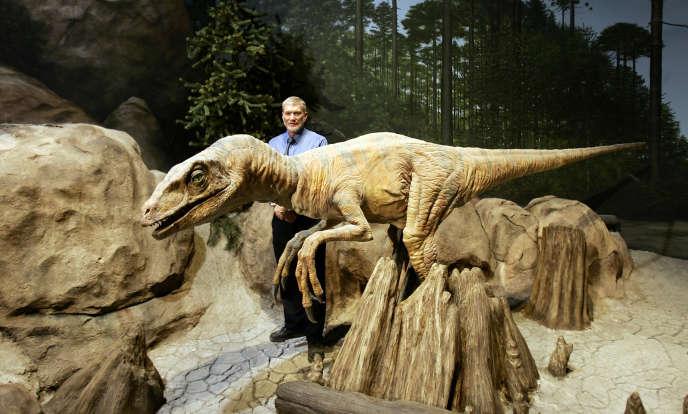 Ken A. Ham, le président de l'association créationniste Answer of Genesis, au Musée de la Création, à Petersburg, dans le Kentucky.