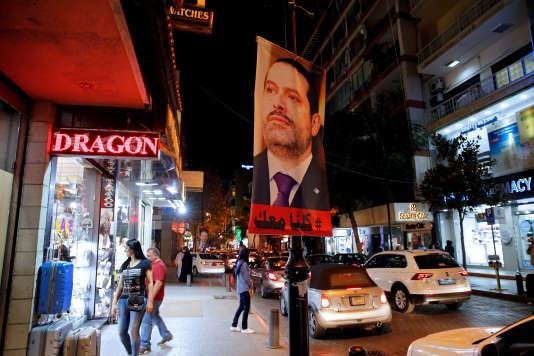 Dans les rues de Beyrouth, le 14 novembre 2017.