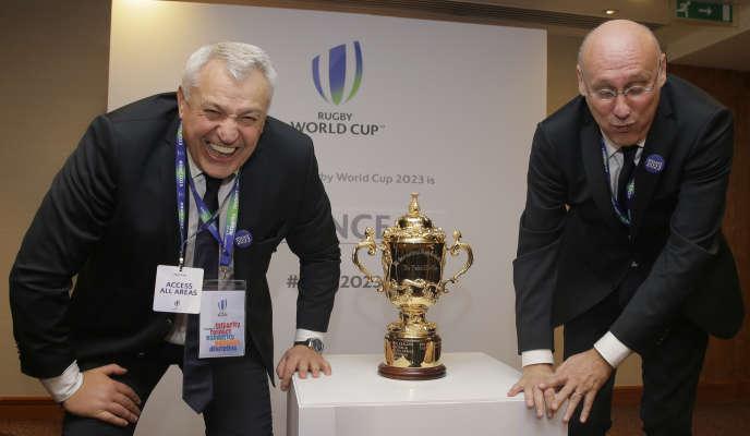 La candidature française a été choisie pour accueillir la Coupe du monde 2023.