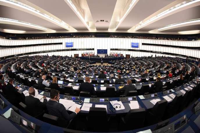 Au Parlement européen, le 15 novembre.