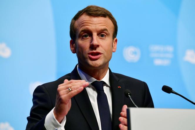 Emmanuel Macron, à Bonn, le 15 novembre.