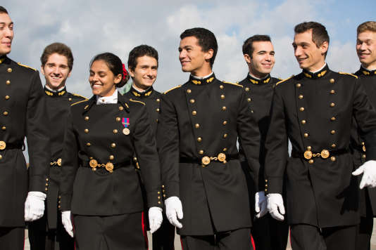 Les étudiants membres de la Junior entreprise de l'Ecole polytechnique.