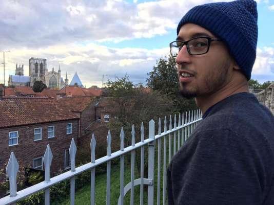Mehdi Bouhassoune, 23ans, est aujourd'hui étudiant en deuxième année de master, à York, au Royaume-Uni.