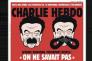 Détail de la couverture de l'édition du 8 novembre n°1320 de Charlie Hebdo.