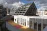 L'immeuble des Ateliers Jourdan, dans le 14e arrondissement de Paris, le 6octobre.