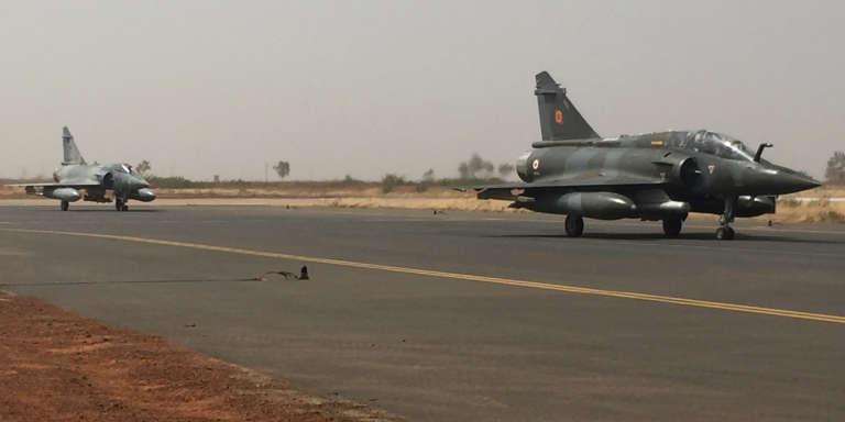 Deux Mirage 2000, le 6 novembre à Niamey.