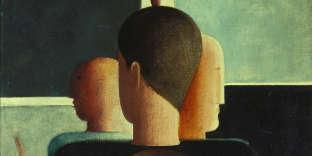 « Groupe concentrique » (1925), d'Oskar Schlemmer (1888-1943).