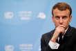 """« L'ordonnance Macron relative à la pénibilité au travail réduit le nombre de facteurs considérés comme """"à risque"""", dans le nouveau compte professionnel de prévention (C3P), qui succède au compte pénibilité. » (Photo : le président français lors de la 23e conférence de l'ONU sur le climat, à Bonn, le mercredi 15novembre)."""