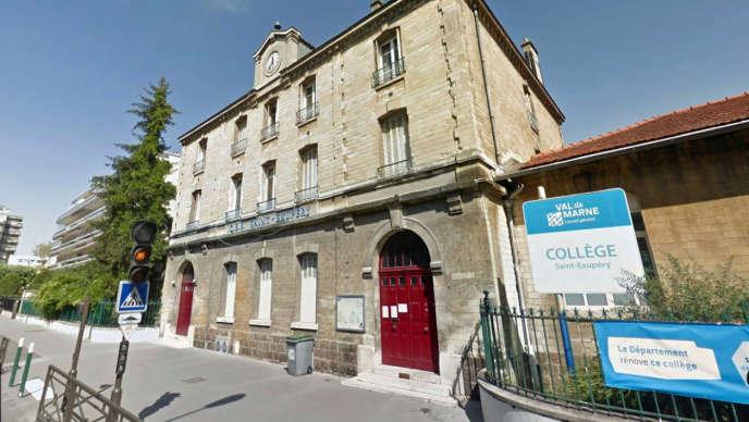 Le collège Saint-Exupéry de Vincennes (Val-de-Marne).