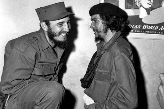 Fidel Castro et Ernesto Che Guevara en 1955.