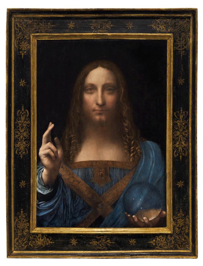 « Ceci n'est pas qu'un tableau, c'est un prix record » (450,3 millions de dollars pour ce «Salvator Mundi»,de Léonard de Vinci).