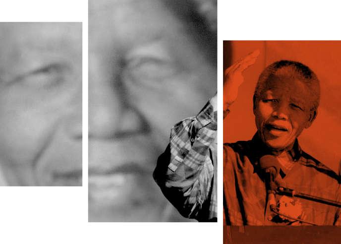 Le président Nelson Mandela, à Pretoria,le 25 juin 1995.