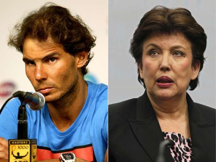Le tribunal correctionnel, qui a jugé MmeBachelot coupable de diffamation, et l'a, enoutre,condamnée à verser 10000euros de dommages et intérêts au numéro1 mondial de tennis, en réparation de son « préjudice moral ».