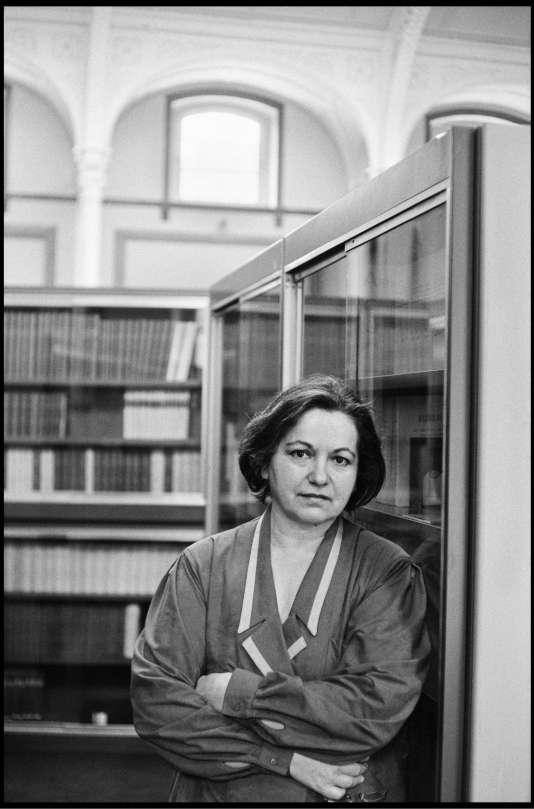 Françoise Héritier, en 1987.