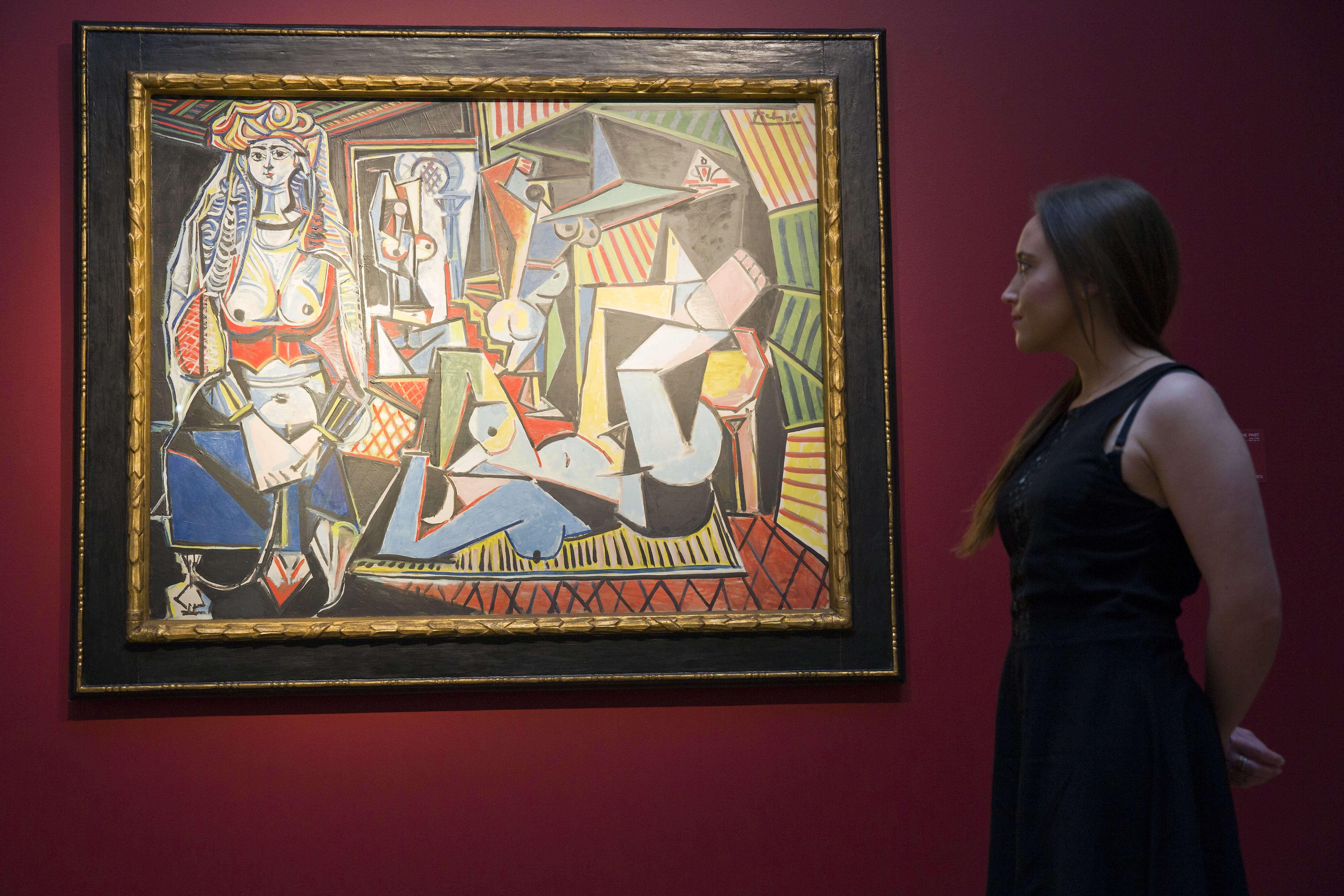 «Les Femmes d'Alger (version 0)», une huile peinte par Pablo Picasso en1955 etreprésentant une scène dans un harem, a été adjugée 179,4millions de dollars enmai2015, également chez Christie's à New York.