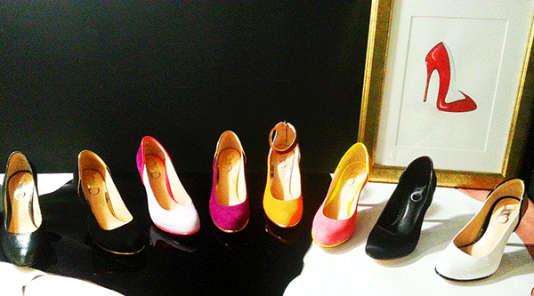 Gamme de chaussures de la sellerie Chamberlan.