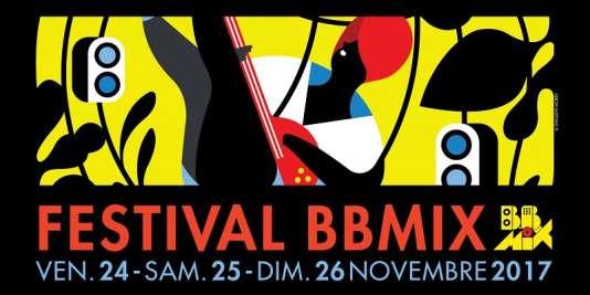 Affiche du festival BBmix, du 24 au 26 novembre à Boulogne-Billancourt.