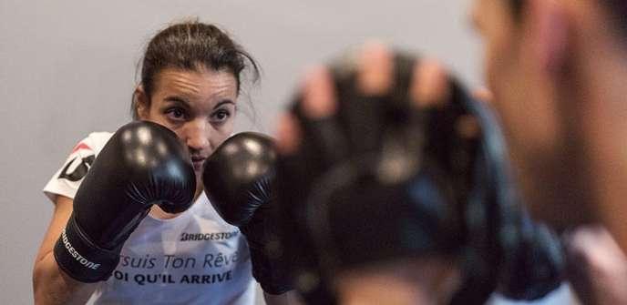 Sarah Ourahmoune est la boxeuse la plus titrée de France.