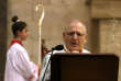 SaBéatitude Louis RaphaëlIer Sako, patriarche de Babylone de l'Eglise catholique chaldéenne, le 24 décembre 2016.