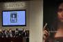 Vente du «Salvator Mundi», de Léonard de Vinci, chez Christie's, à New York, le 15 novembre.