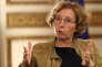 La ministre Muriel Penicaud, dans son bureau au ministère du travail, à Paris le 15 novembre.