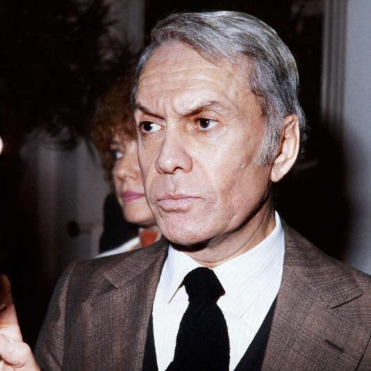 Robert Hirsch, vers 1978.