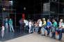 Devant la Banco de Venezuela, à Caracas, le 3 novembre.