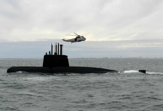 Le sous-marin «San-Juan» en 2013.