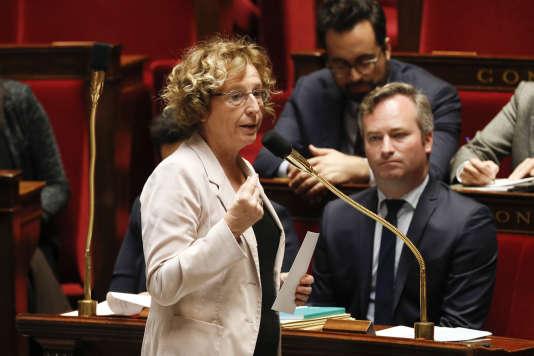 La ministre du travail, Muriel Pénicaud, le 7 novembre 2017 à l'Assemblée nationale.
