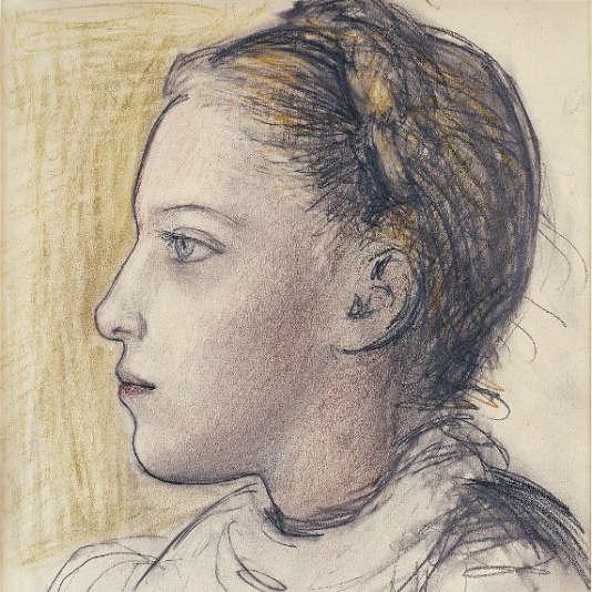 «Portrait de Maya de profil» (1943), dePablo Picasso.
